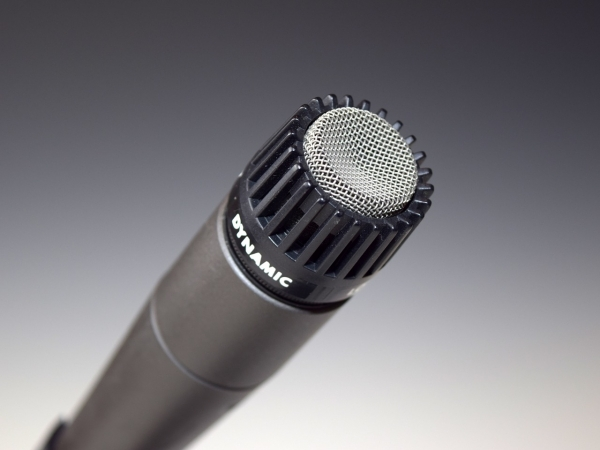 microphone for recorded statements