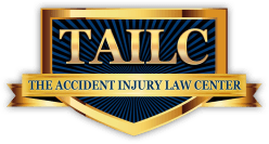 the accident injury law center logo